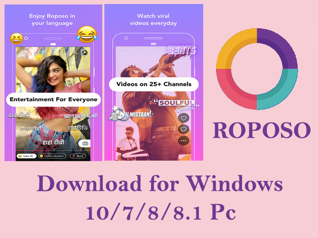Roposo for Pc Download and Install