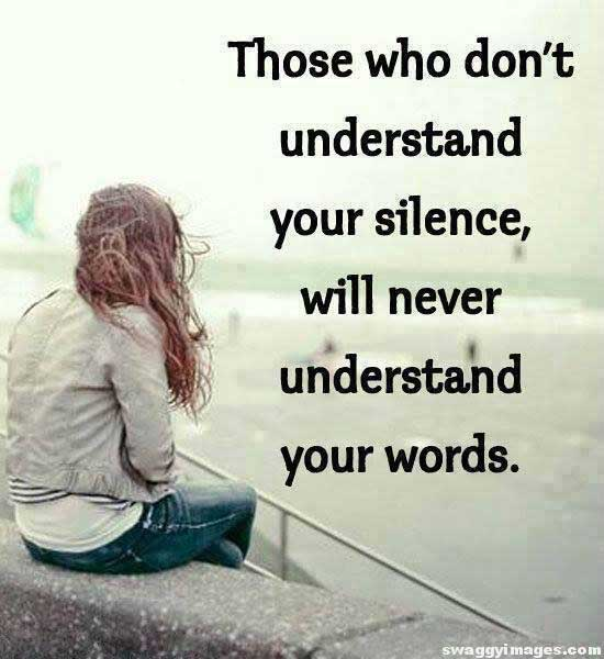 Alone Silence Dp for Whatsapp