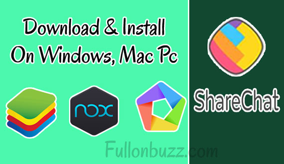 Sharechat Pc Web version Download and Install