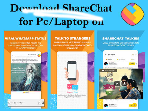 Sharechat for PC/Laptop