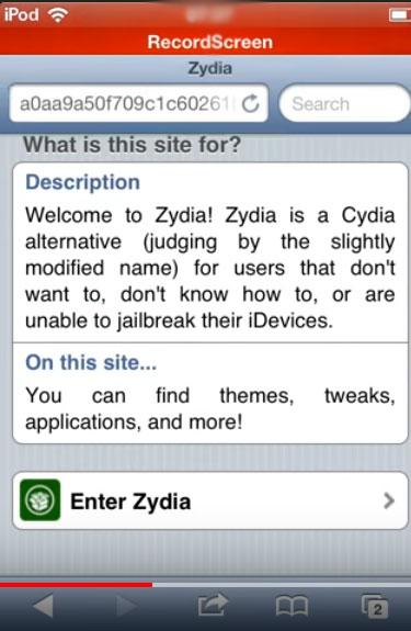 Zydia iOS App, Download & Install Zydia for iOS 11+/10+/9+