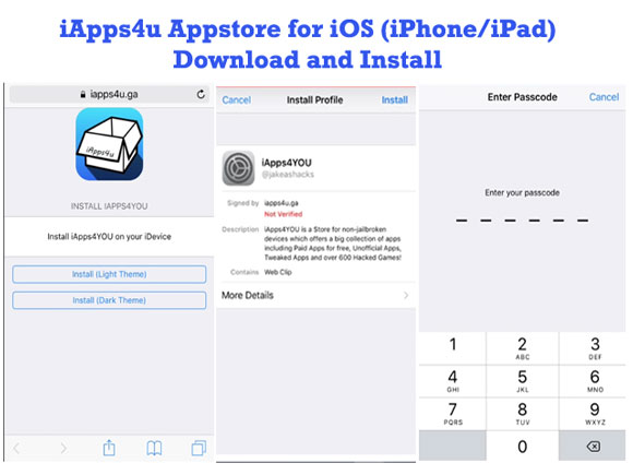 iApps4u For iOS Download & Install on iOS 11/10+/9+/8+/7+