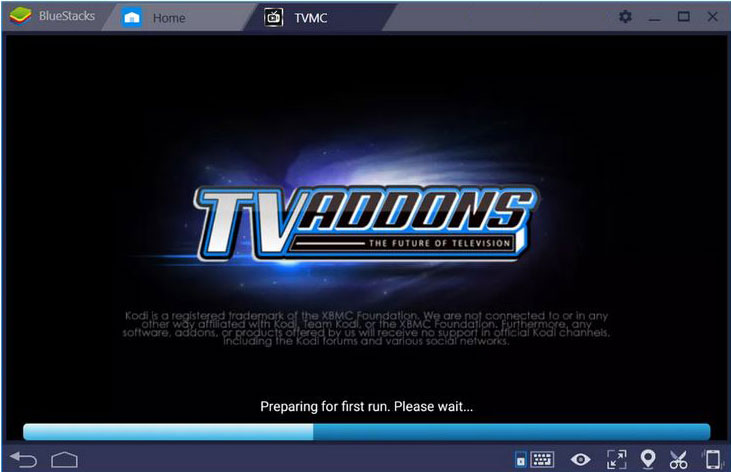 TVMC APP ON WINDOWS PC