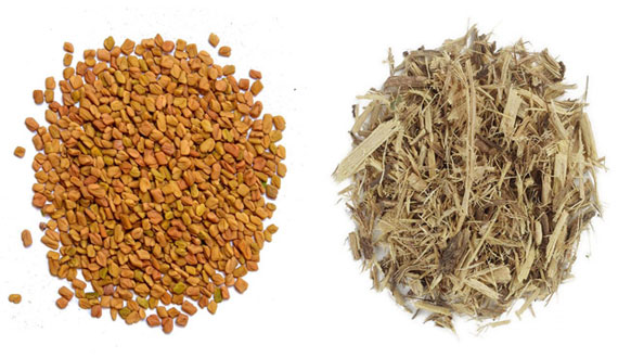 Fenugreek Herb and Licorice root for Hair Fall