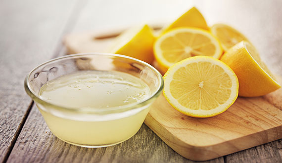 Lemon Juice To Treat Oily Skin
