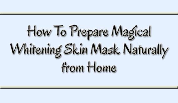 Magical Whitening Skin Mask