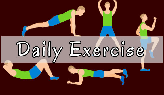 Daily Exercise Boost Digestion
