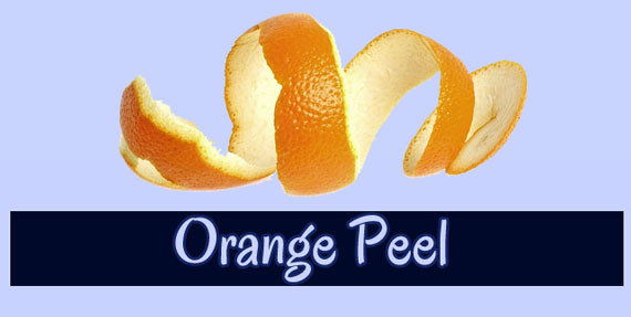 Teeth Whitening At Home with Orange Peel