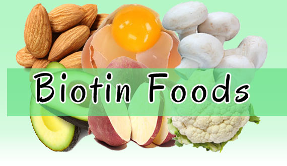 Biotin Foods for Hairfall