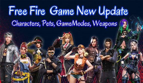 Free Fire Game New Updates Patch Notes