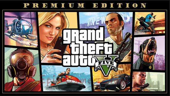 GTA V Premium Edition for Free By Epic Games Store
