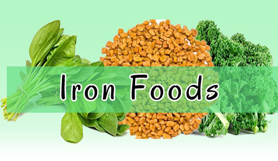 Iron Foods For Healthy Hair Growth