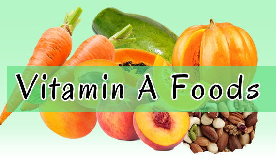 Vitamin A Foods for Healthy Hair