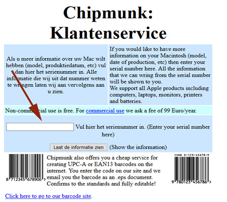 Check iPhone Age Using Chipmunk Tool