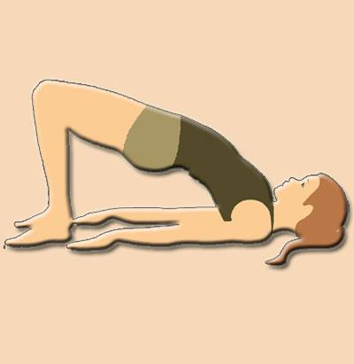 Setu Bandhasana, Bridge Yoga Pose
