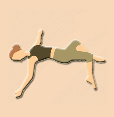 Supine Twist, Supta Matsyendrasana Yoga Pose
