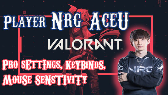 NRG Acue Valorant Pro settings