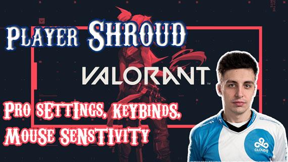 Shroud Valorant Pro Settings