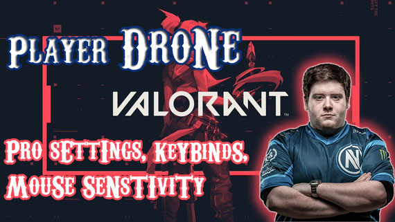 TSM Drone Valorant Player Pro Settings