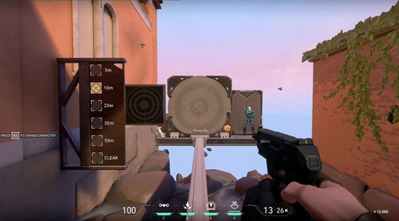 Aiming and Recoil Control in Valorant Game