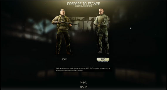 Characters in Escape From Tarkov, EFT Game