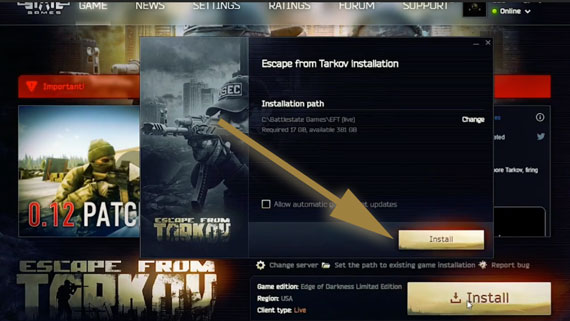 Install Escape From Trakov Game On Pc
