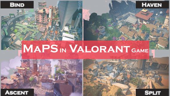 Maps in Valorant Game