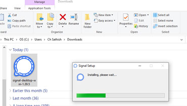 Install Signal Windows Pc Version