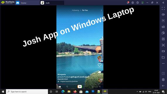 Use Josh App on Pc Using Emulators