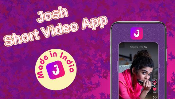 Josh-Short-Video-App