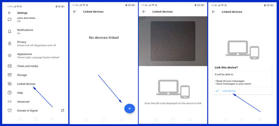 Setup Signal Desktop app on Windows Pc