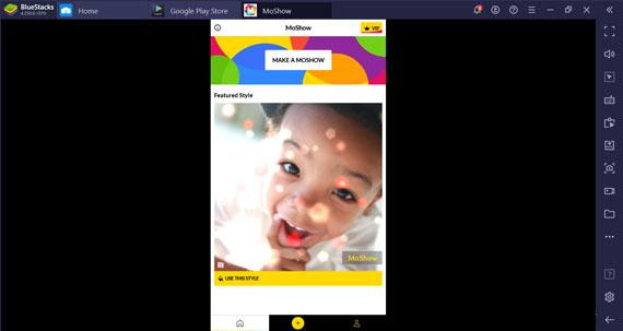 Use MoShow App on Windows Pc/Laptop