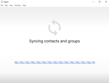 Open Signal App on Desktop
