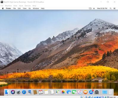 Open Mac Os on Windows 10 Computer