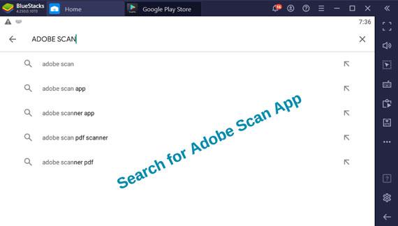 Adobe Scan Pc App for Windows Computer