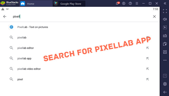 Download and Install PixelLab App for Pc