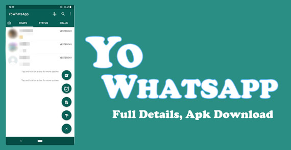 Download and Install YoWhatsapp Apk Latest Version
