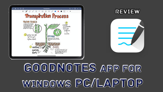 How to Use GoodNotes App for Windows Pc/Laptop